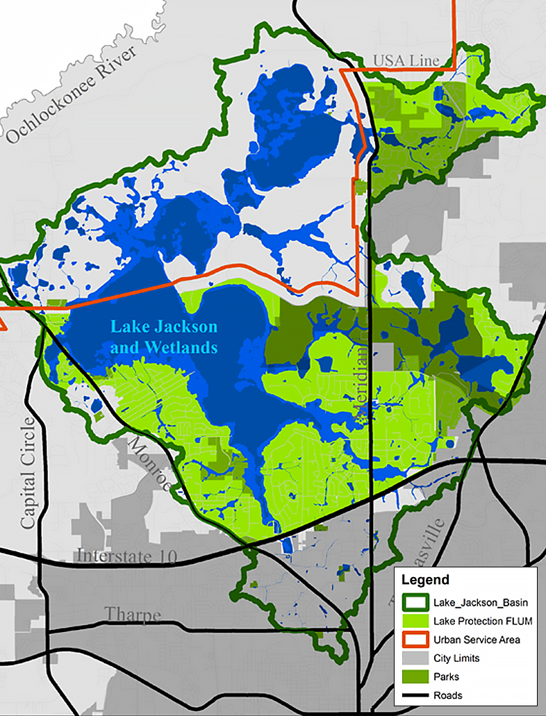 Lake Protection Zone Map