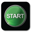 A large green button labeled START