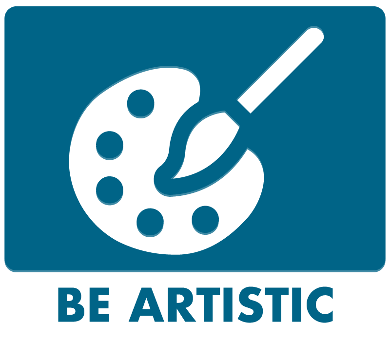 Be Artistic Button
