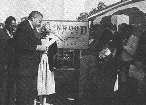 Greenwood Cemetery Rededication