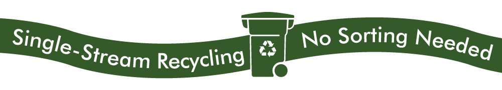Single Stream Recycling - No Sorting Necessary!